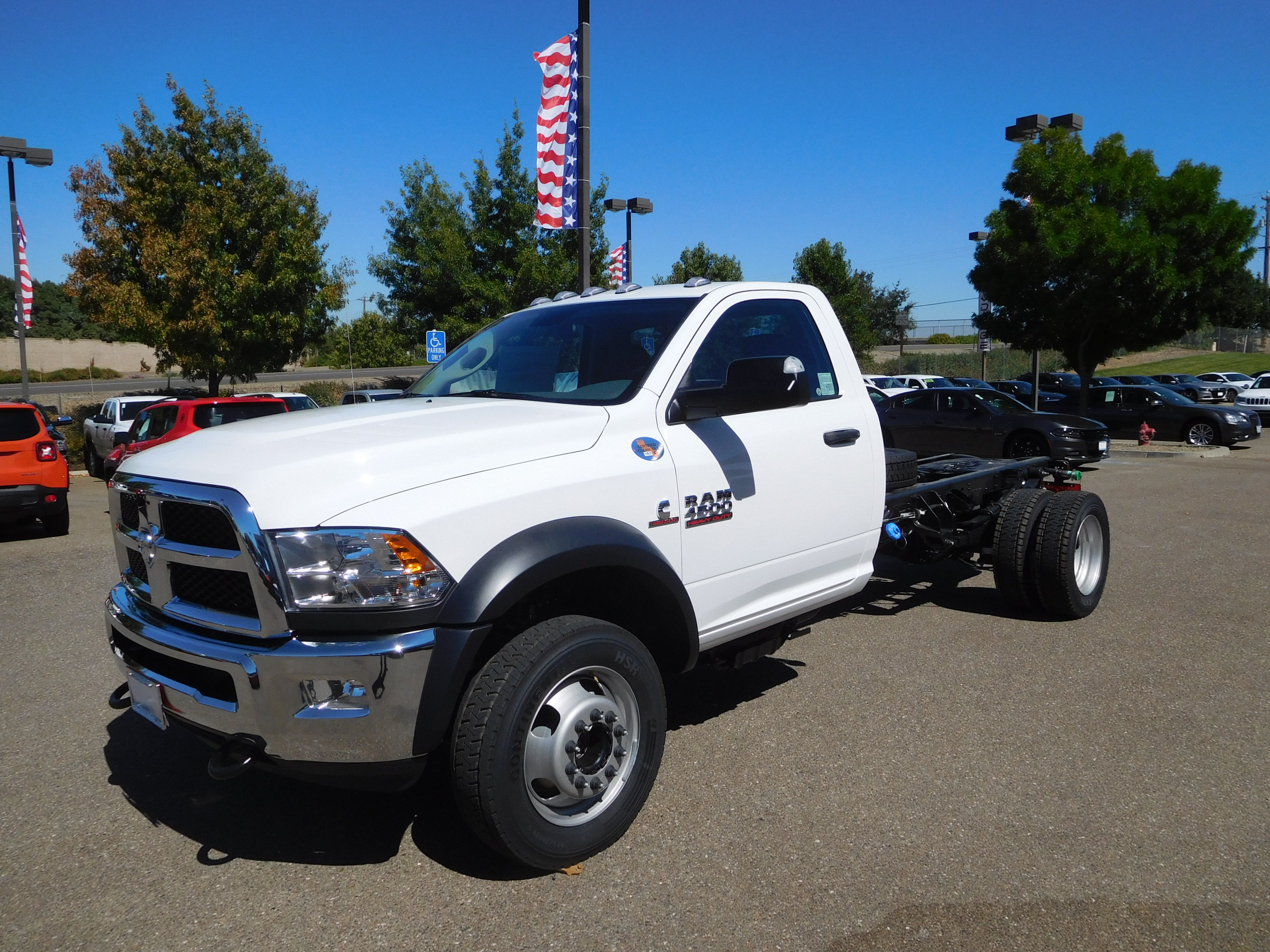 2017 Ram 4500 Regular Cab DRW 4x4,  Cab Chassis #15070 - photo 5