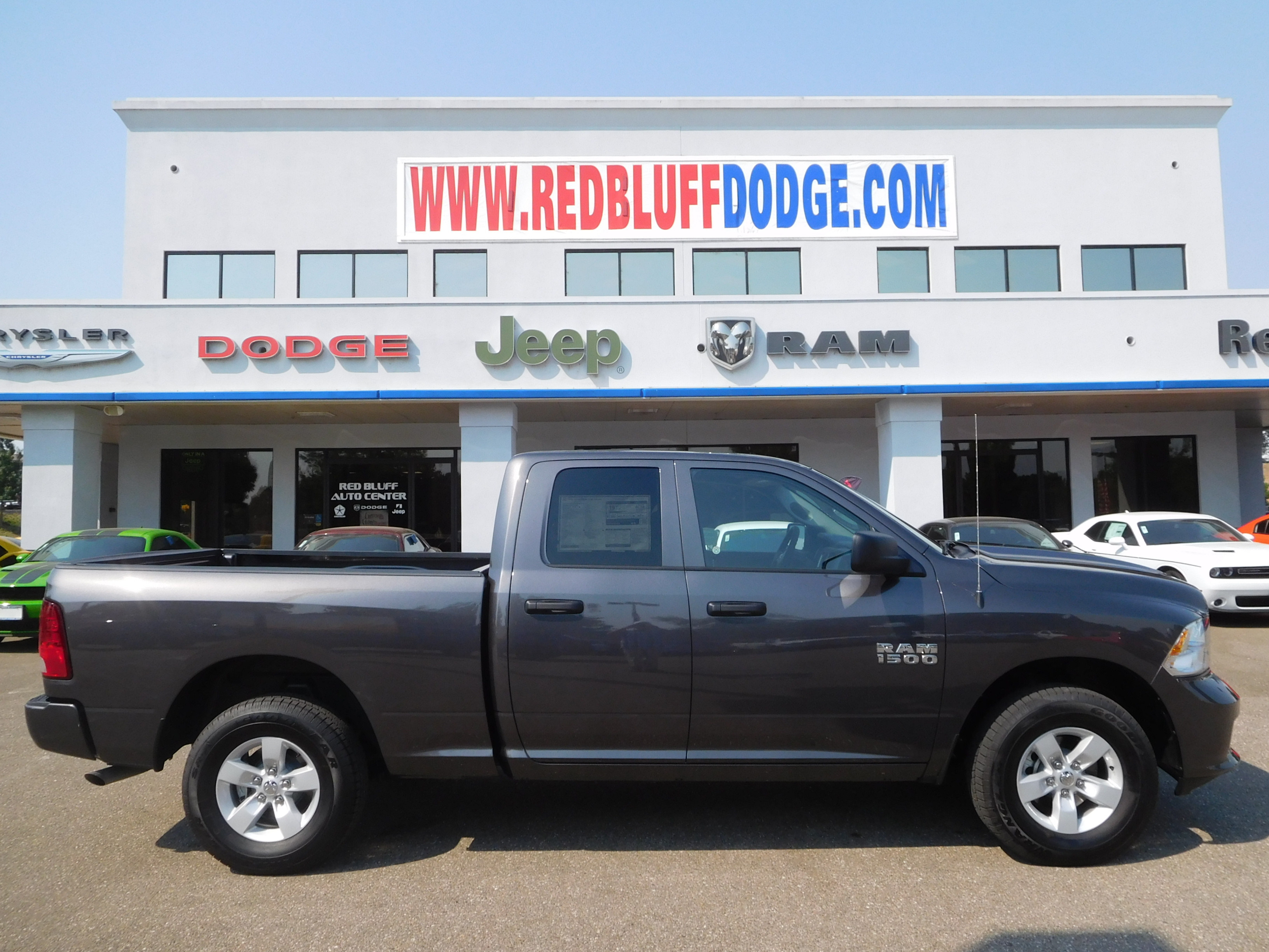 2017 Ram 1500 Quad Cab 4x4 Pickup #15151 - photo 3
