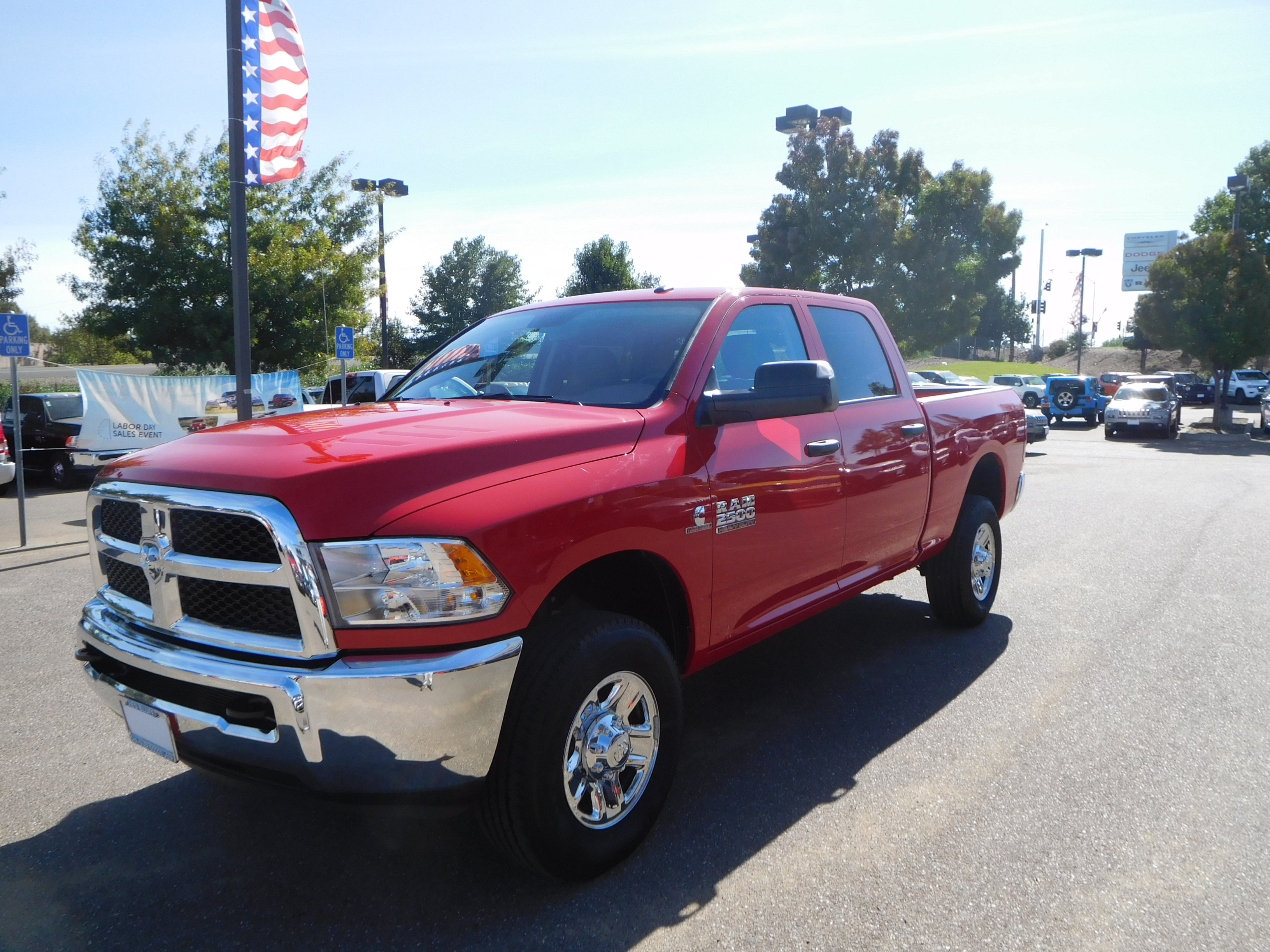 2018 Ram 2500 Crew Cab 4x4 Pickup #15240 - photo 5