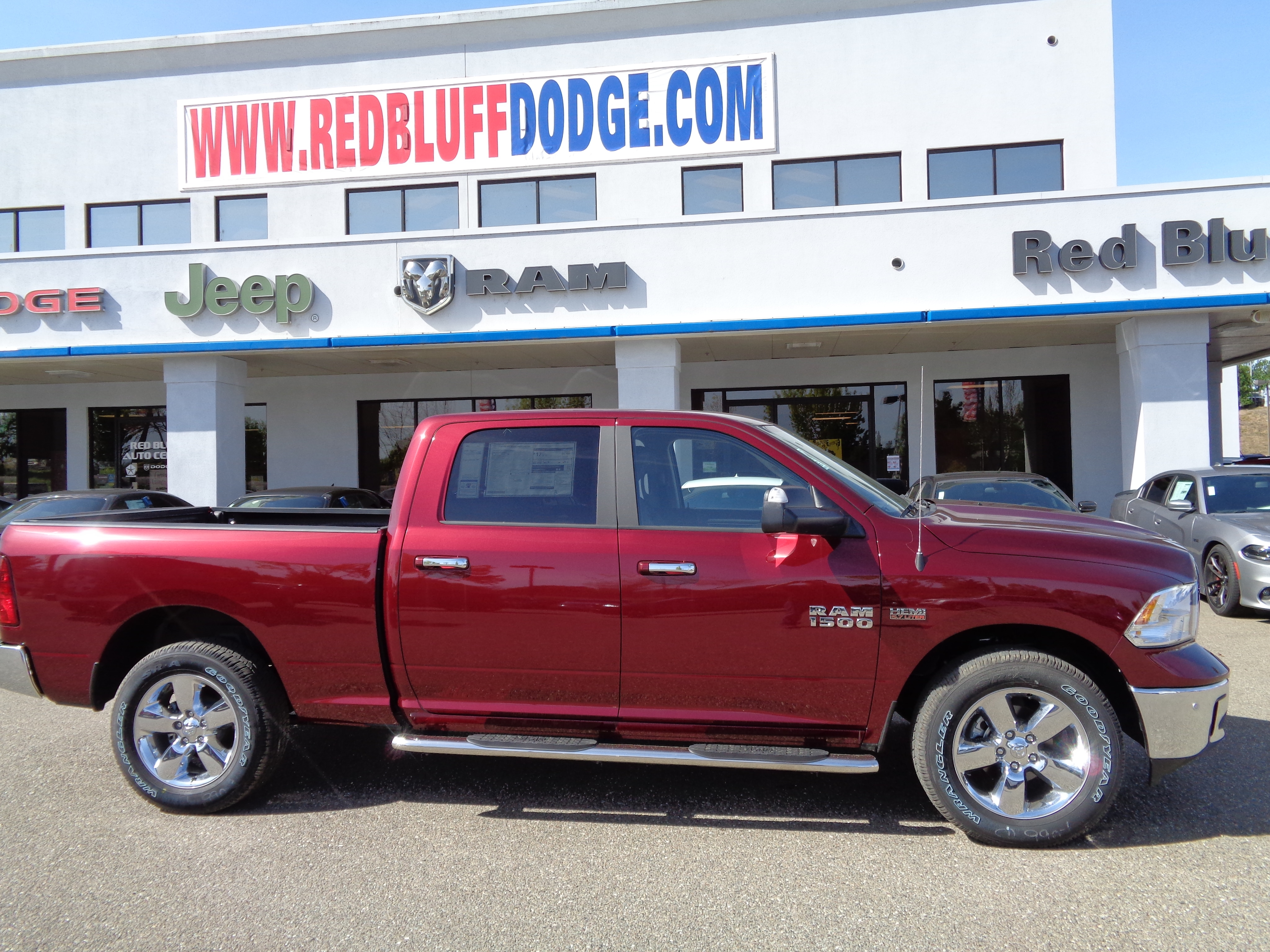 2018 Ram 1500 Crew Cab 4x4,  Pickup #15840 - photo 13