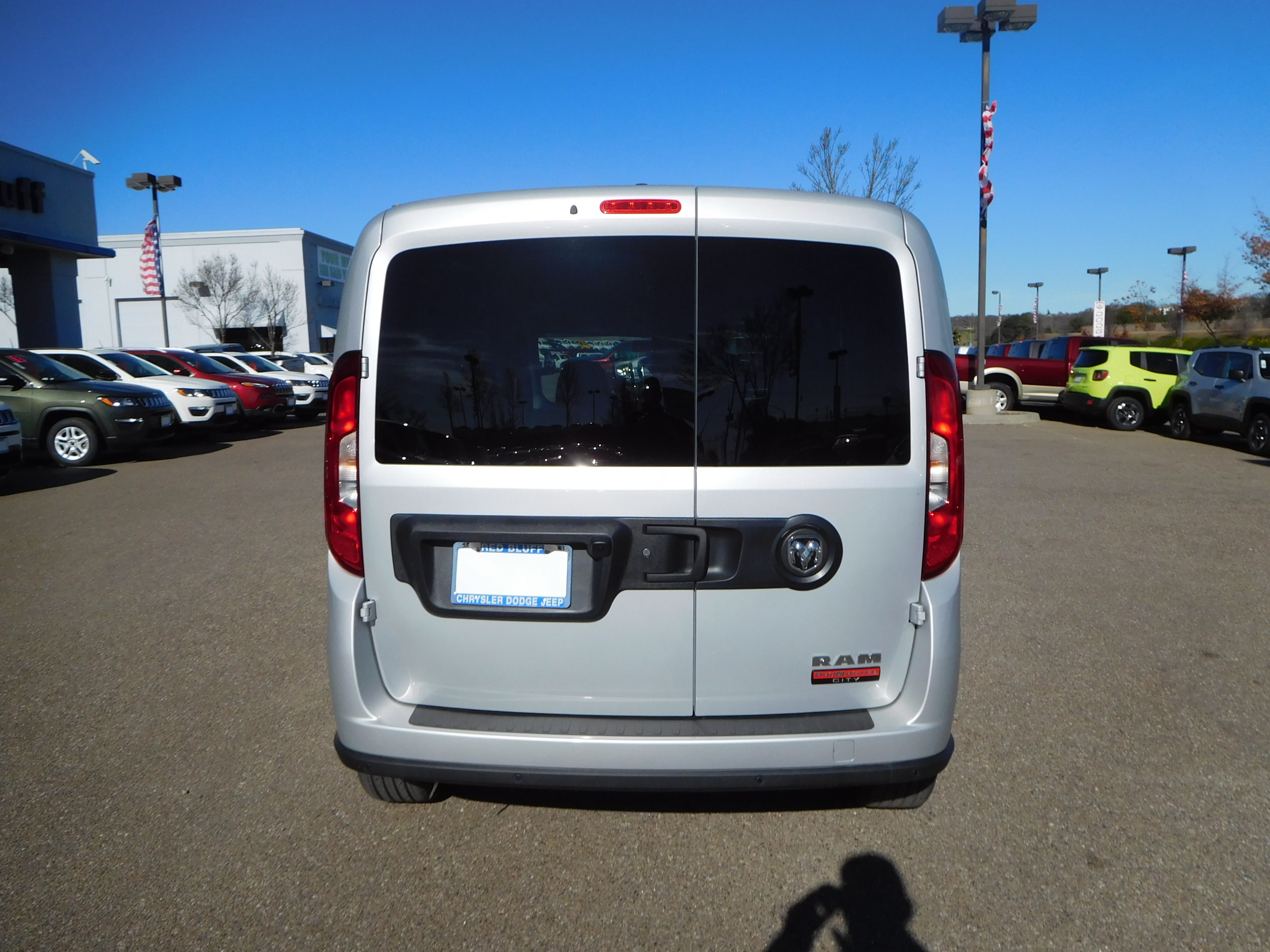 2018 ProMaster City FWD,  Empty Cargo Van #15898 - photo 9