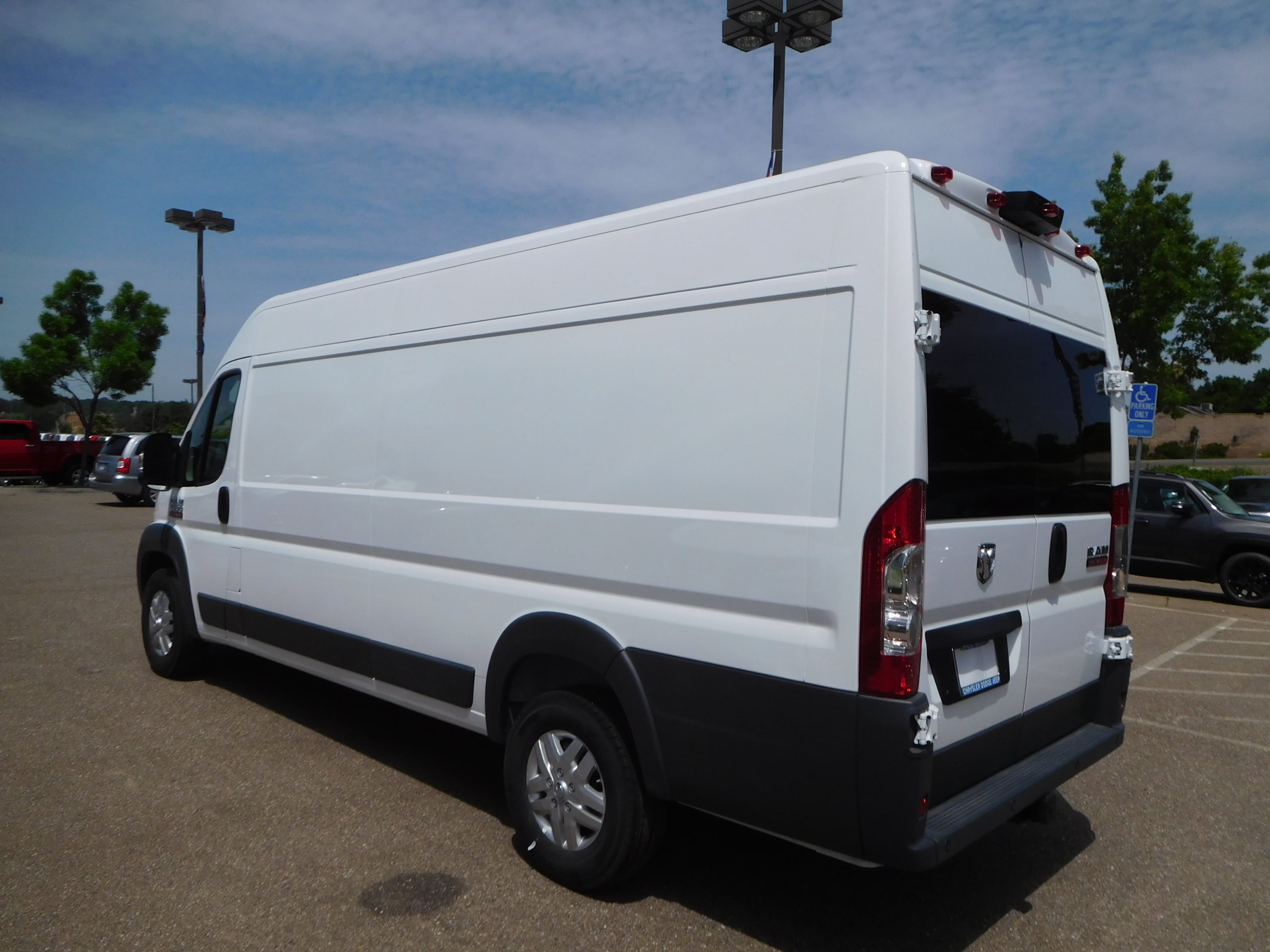 2018 ProMaster 3500 High Roof,  Empty Cargo Van #16055 - photo 7
