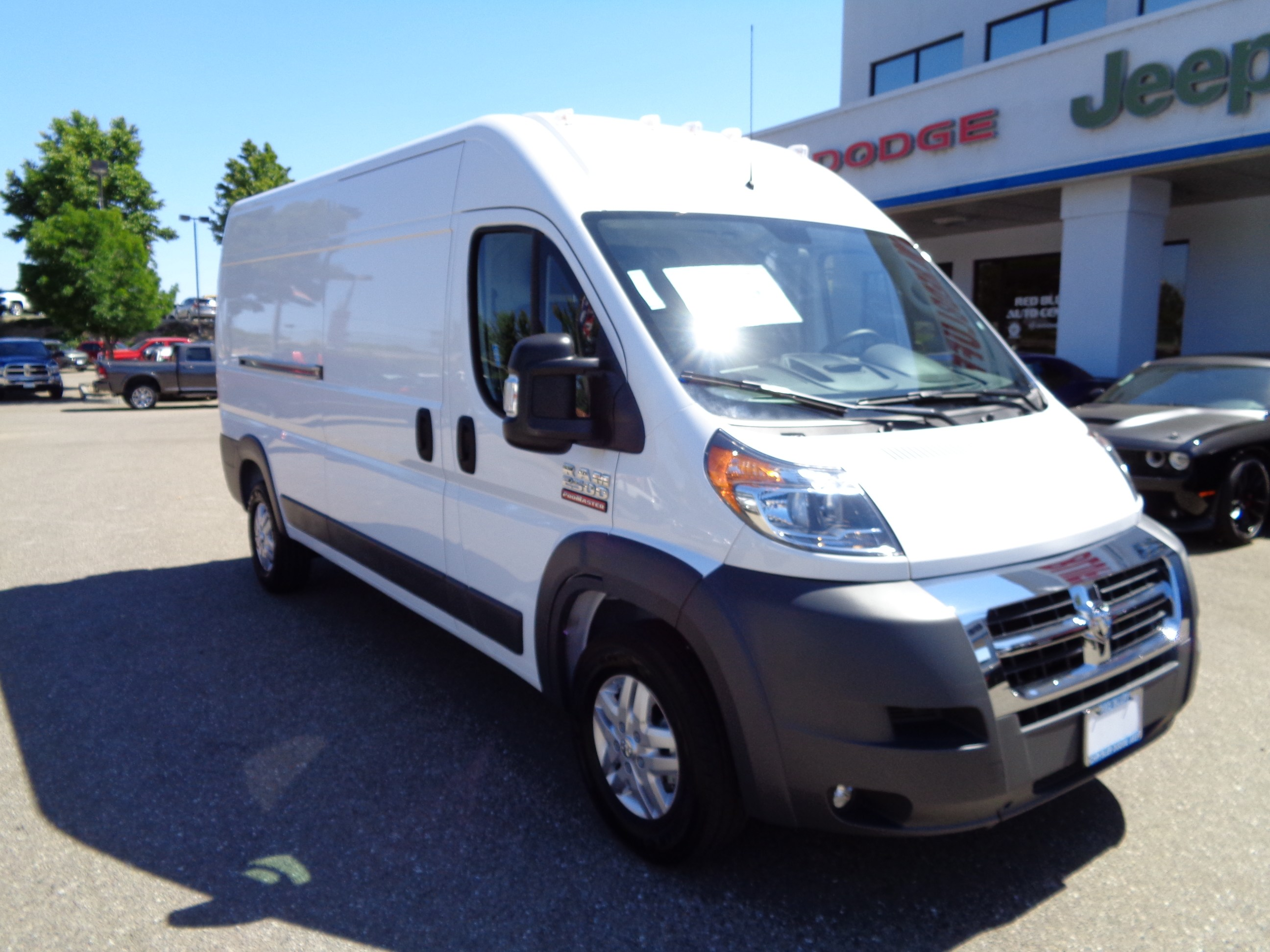 2018 ProMaster 2500 High Roof FWD,  Ranger Design Mobile Service Upfitted Cargo Van #16124 - photo 1