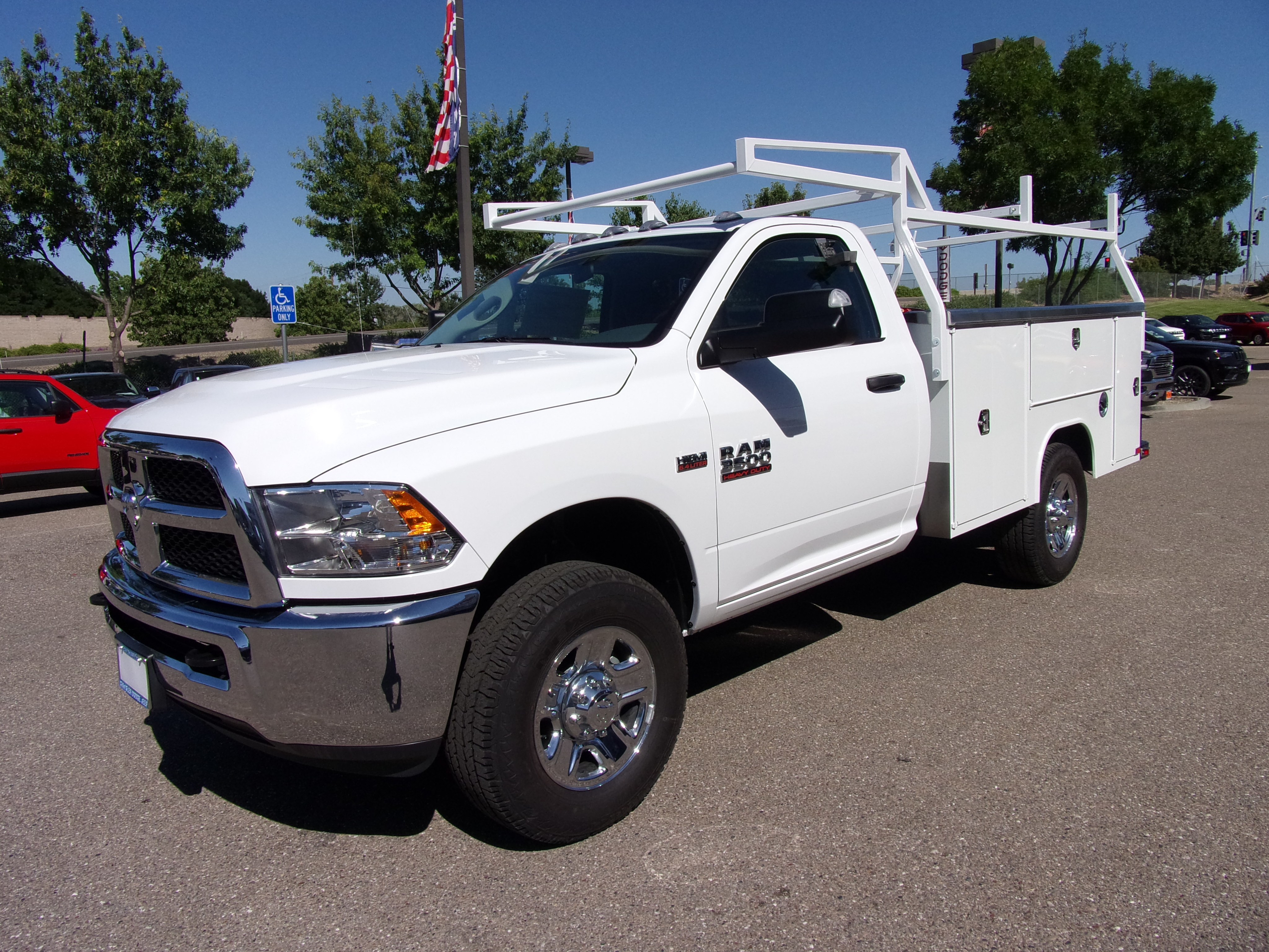2018 Ram 3500 Regular Cab 4x4,  Harbor Service Body #16218 - photo 5