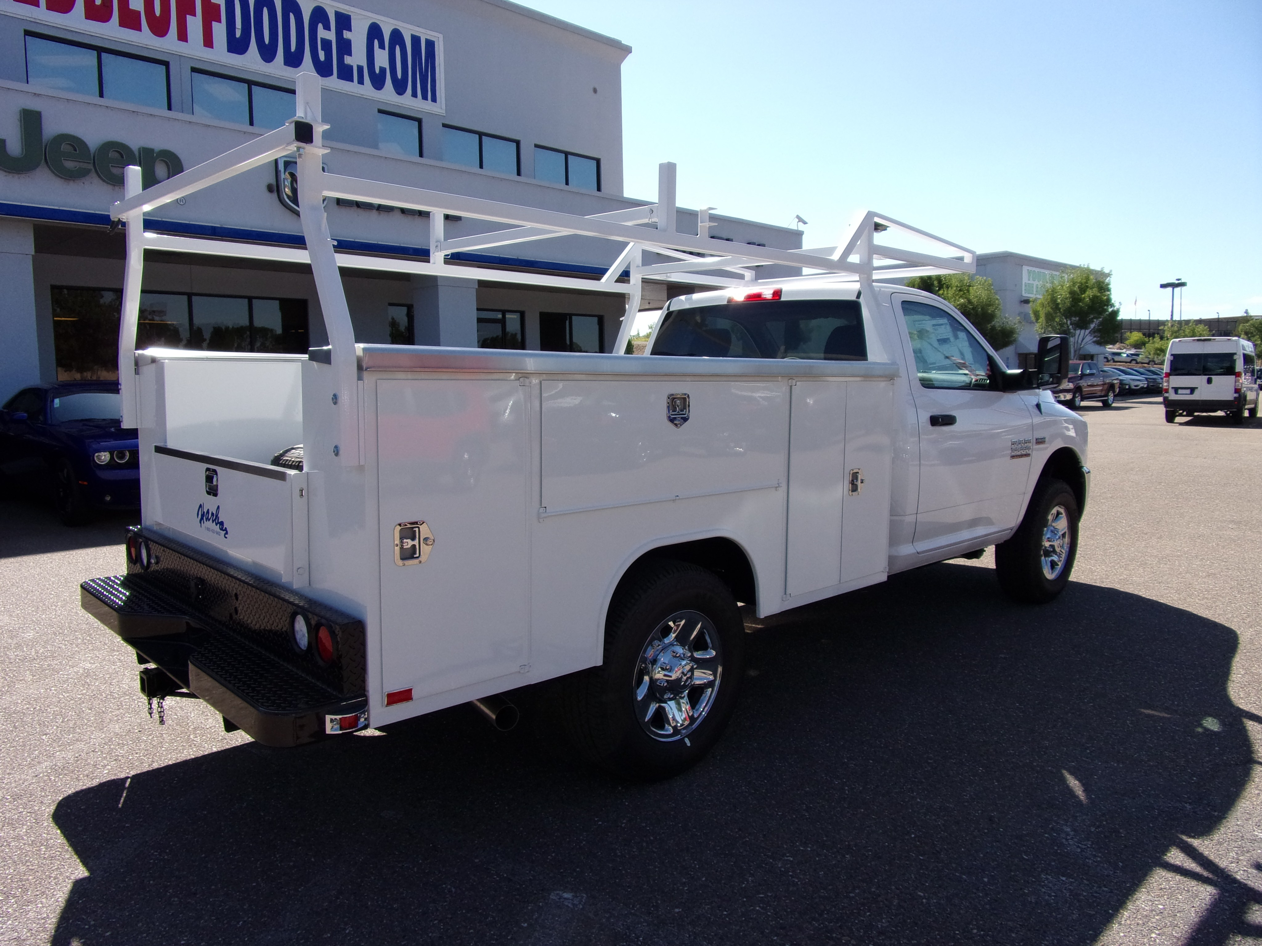 2018 Ram 3500 Regular Cab 4x4,  Harbor Service Body #16218 - photo 2