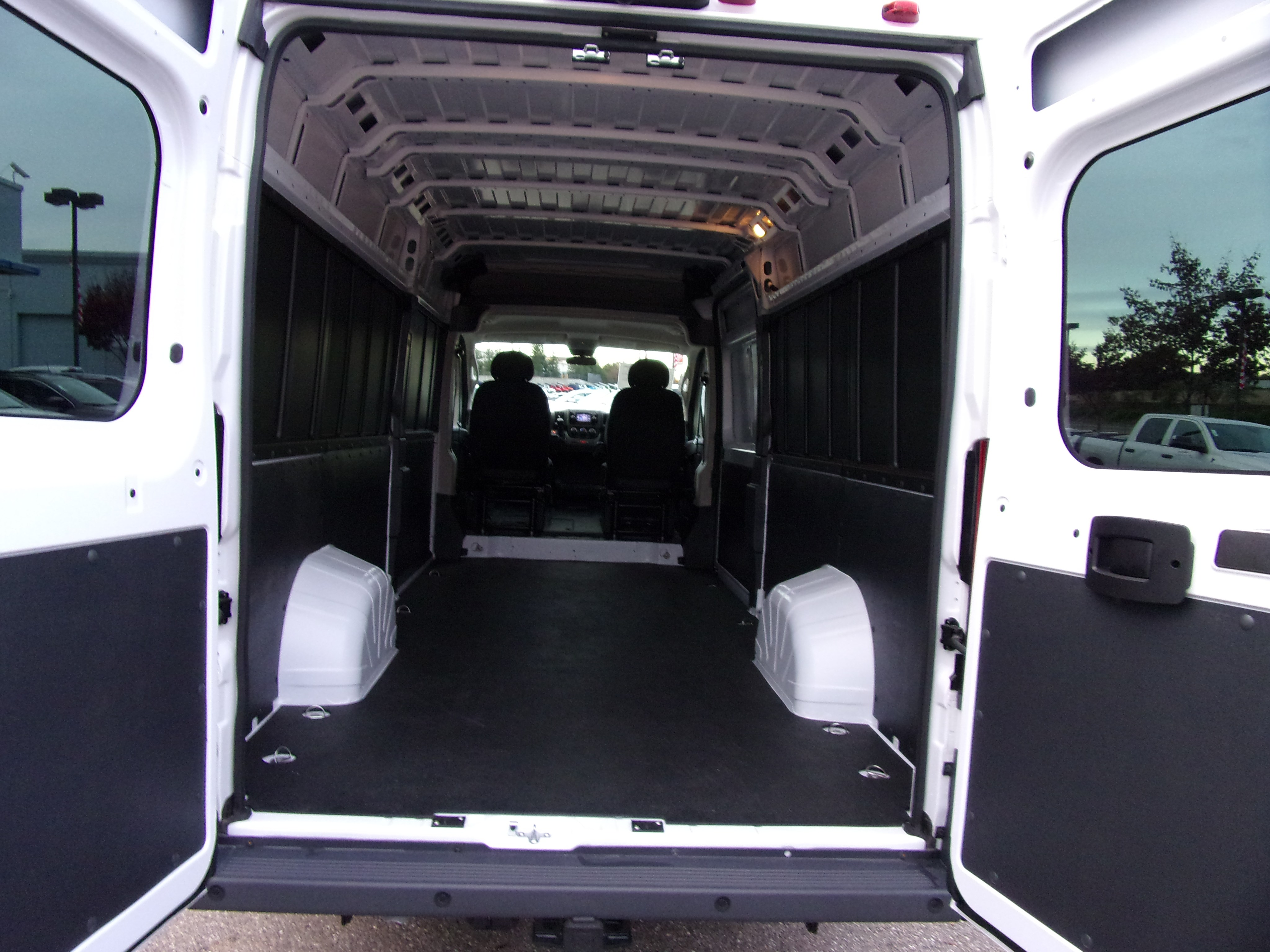 2018 ProMaster 3500 High Roof FWD,  Empty Cargo Van #16298 - photo 2