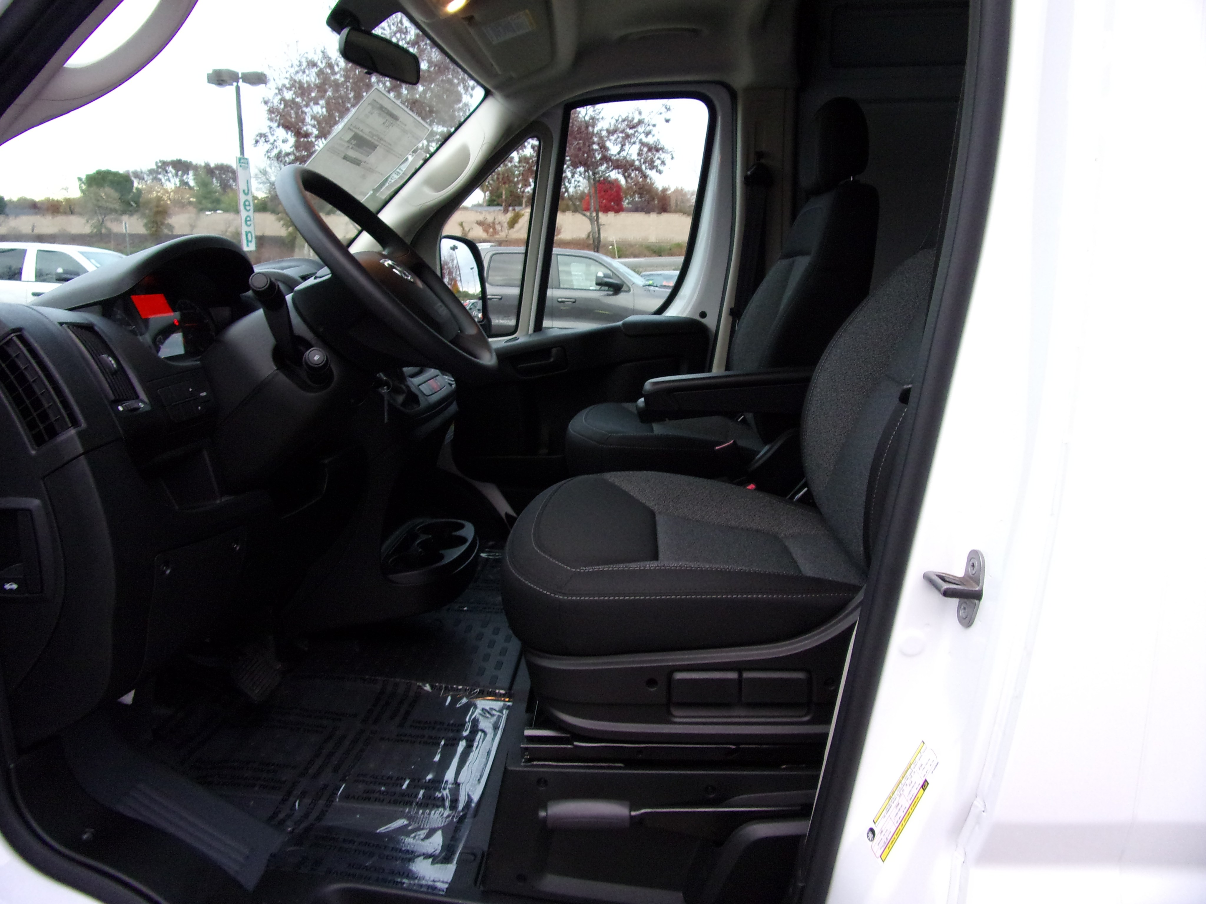 2018 ProMaster 3500 High Roof FWD,  Empty Cargo Van #16298 - photo 13