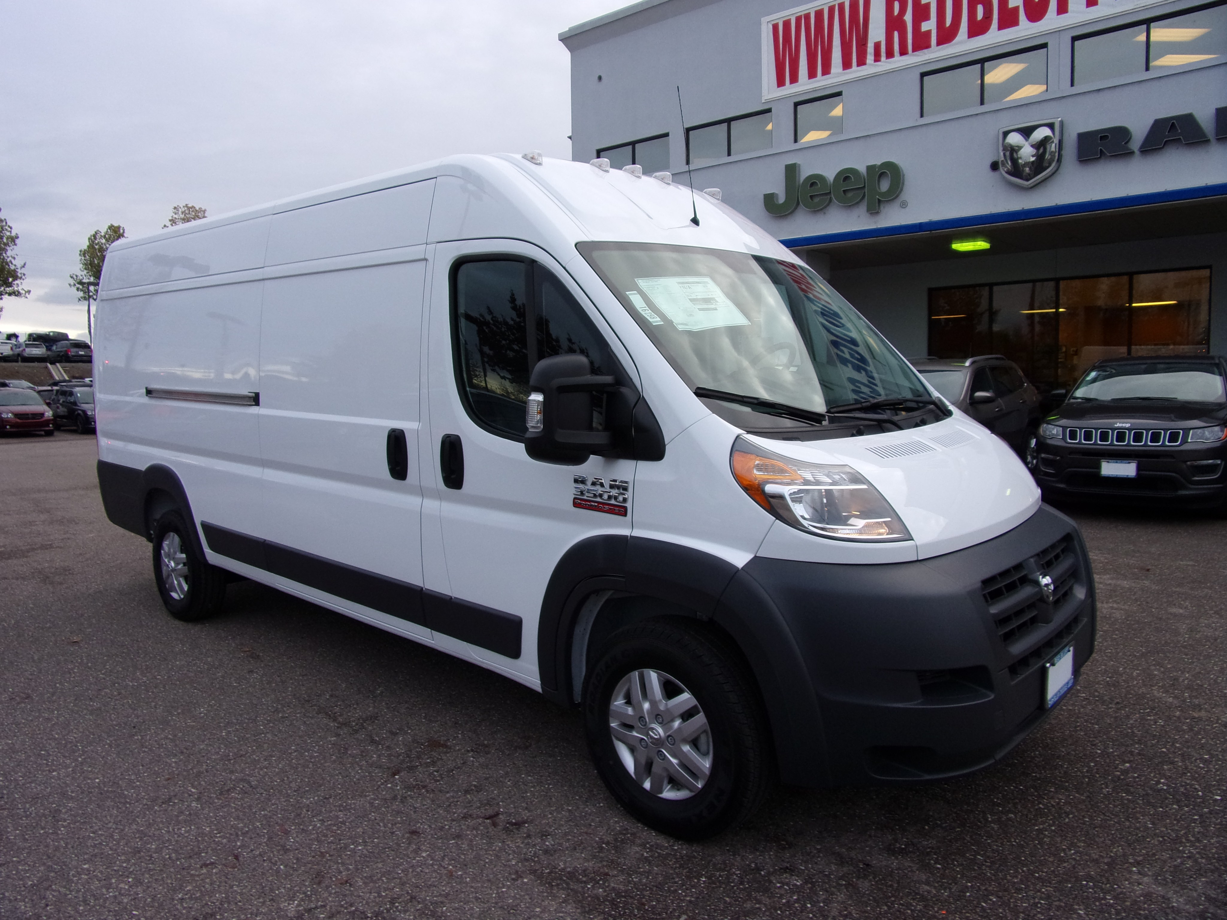 2018 ProMaster 3500 High Roof FWD,  Empty Cargo Van #16298 - photo 1