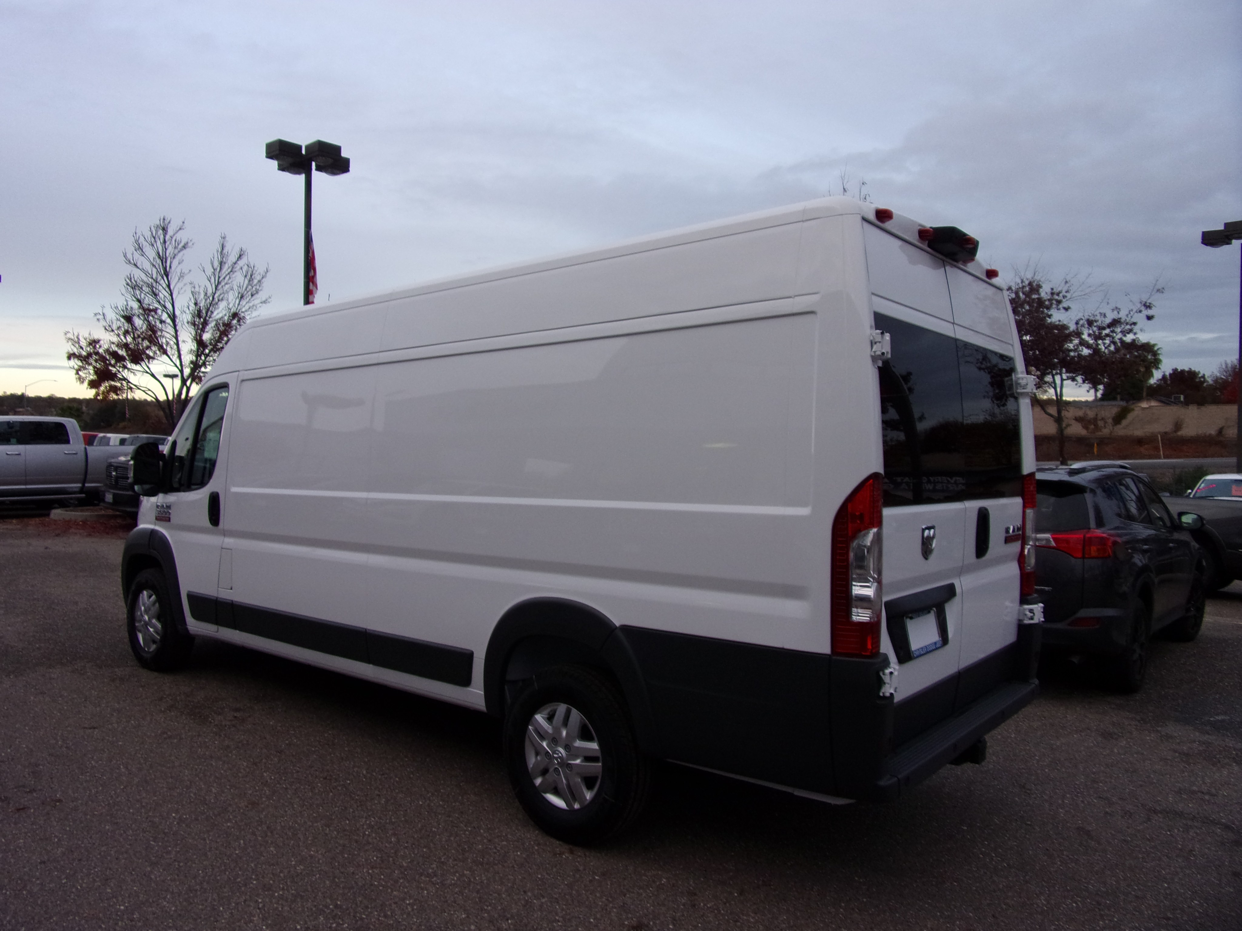 2018 ProMaster 3500 High Roof FWD,  Empty Cargo Van #16298 - photo 7