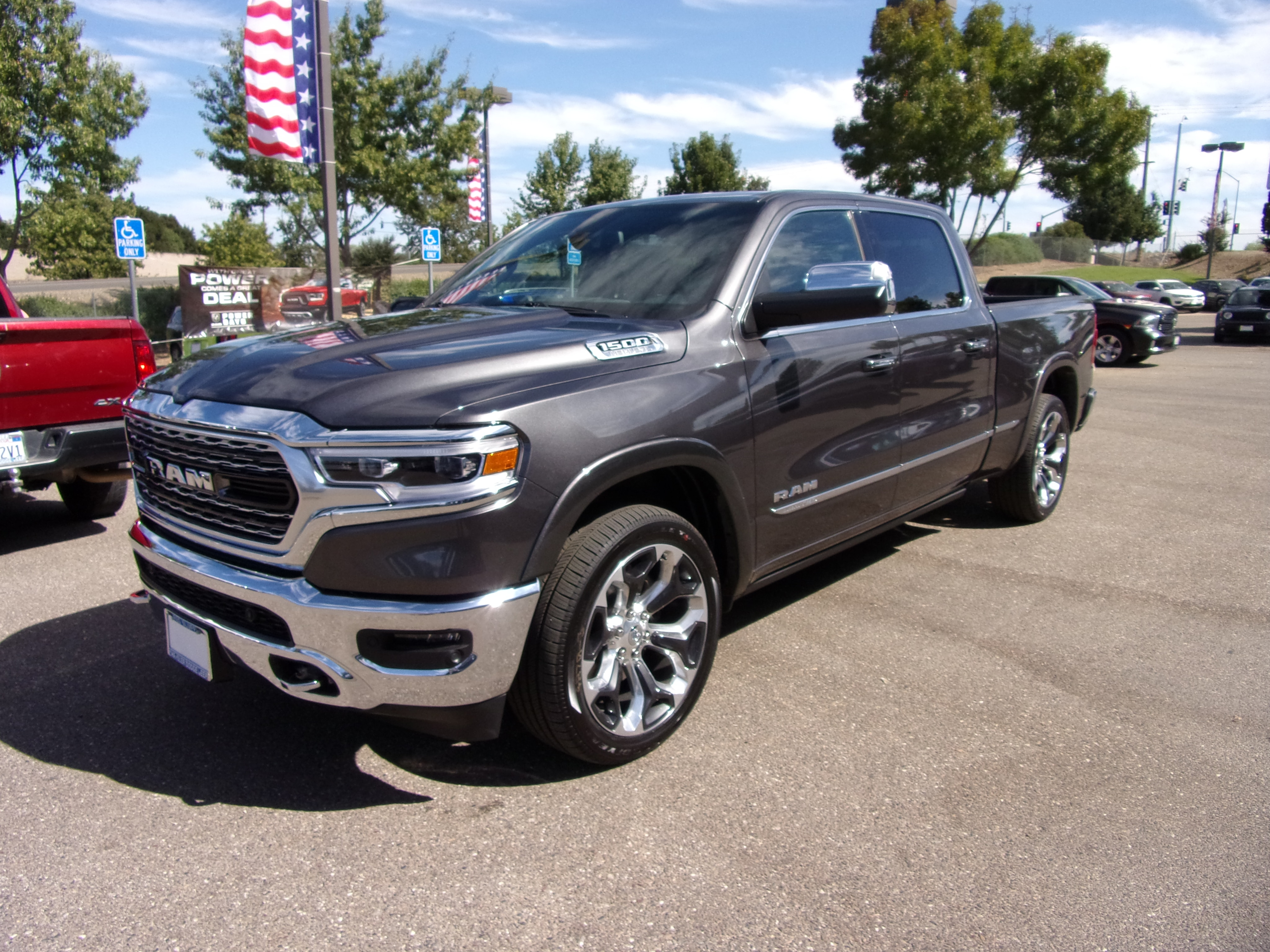 2019 Ram 1500 Crew Cab 4x4,  Pickup #16580 - photo 5