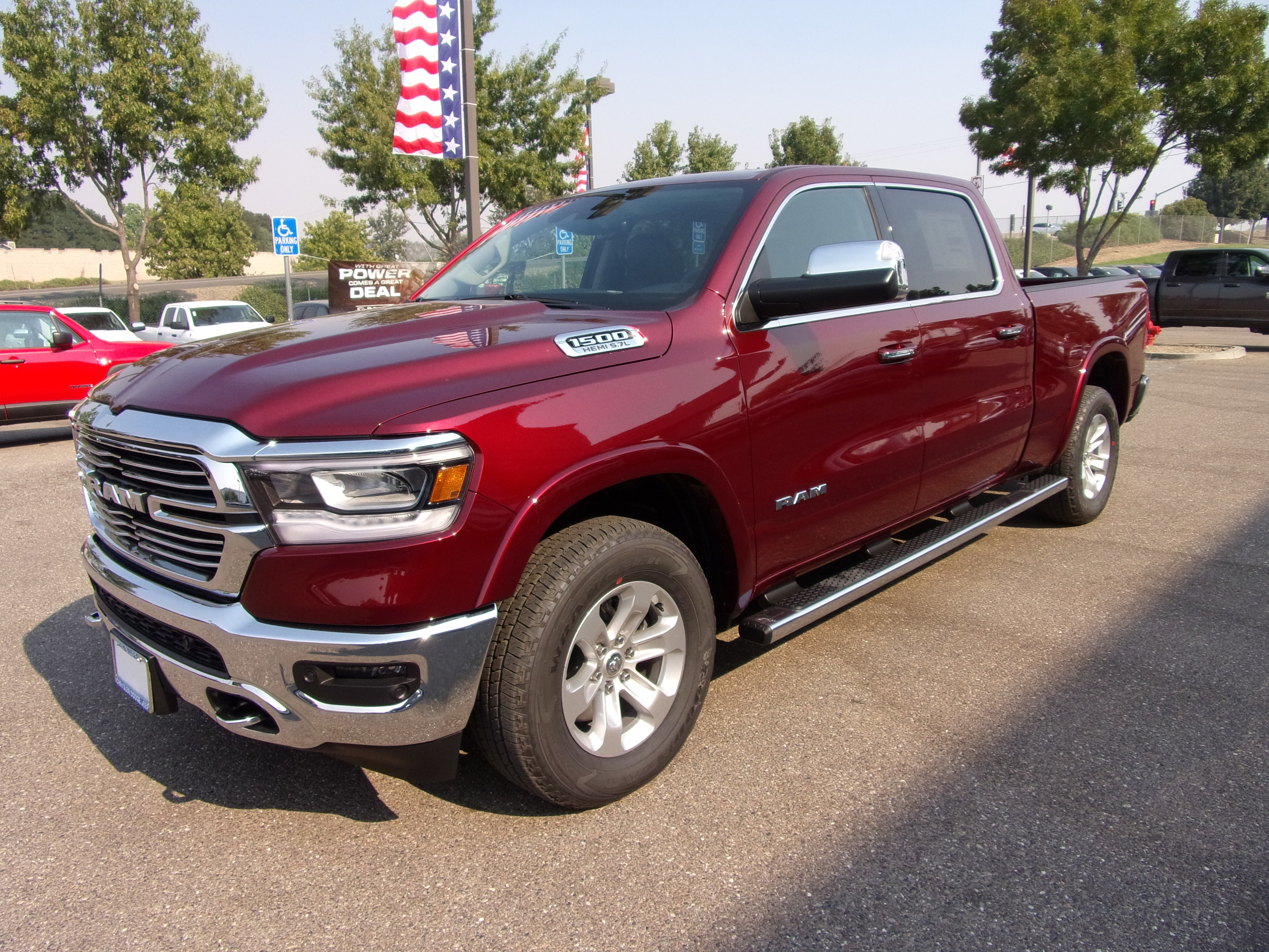 2019 Ram 1500 Crew Cab 4x4,  Pickup #16636 - photo 5
