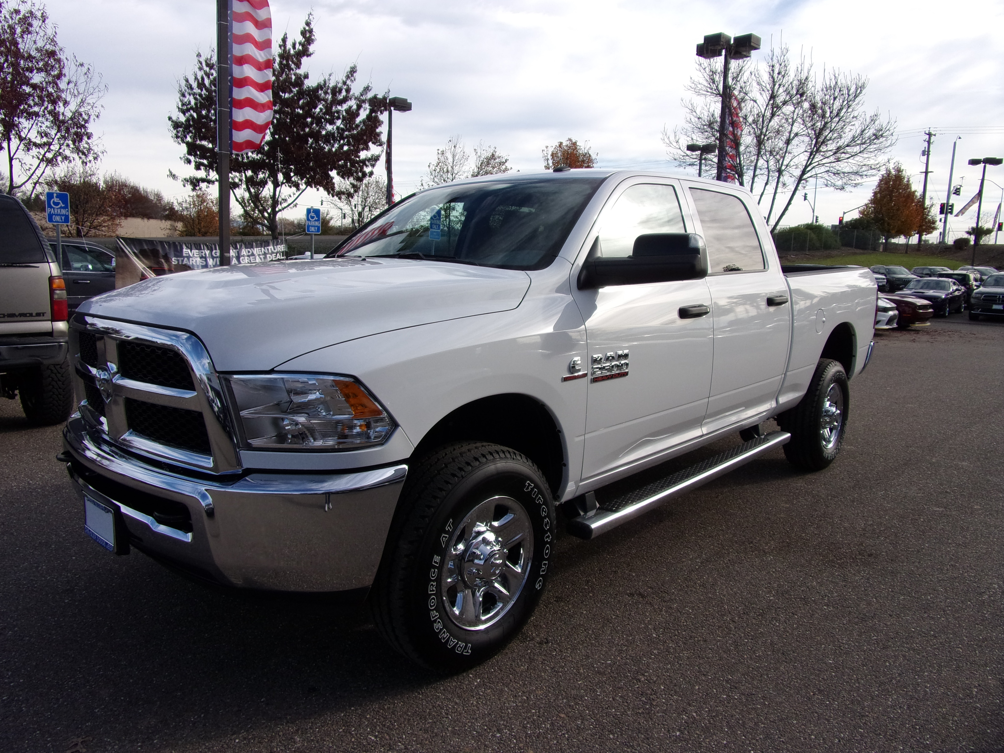 2018 Ram 2500 Crew Cab 4x4,  Pickup #16689 - photo 4