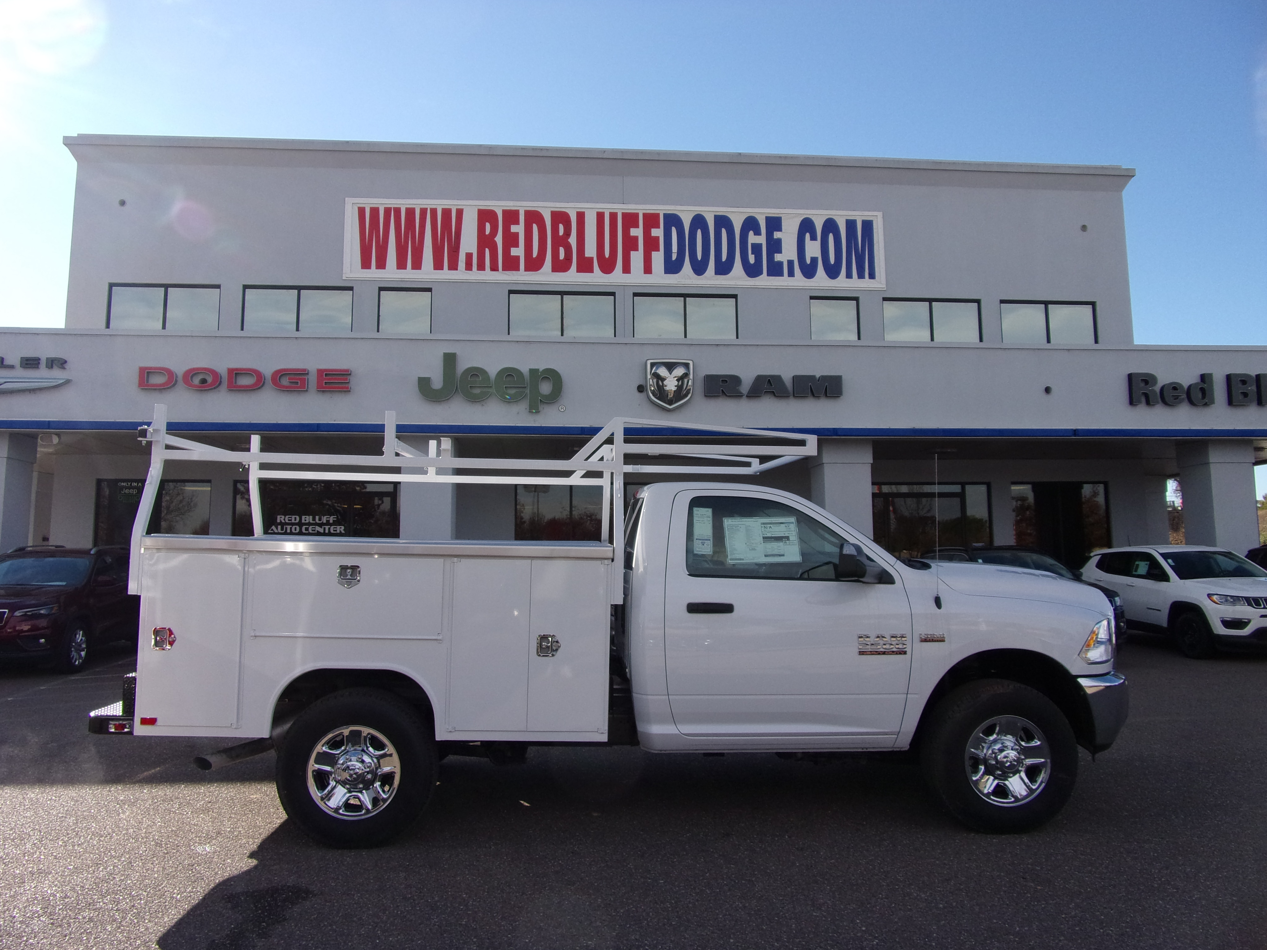 2018 Ram 2500 Regular Cab 4x4,  Harbor Service Body #16744 - photo 3