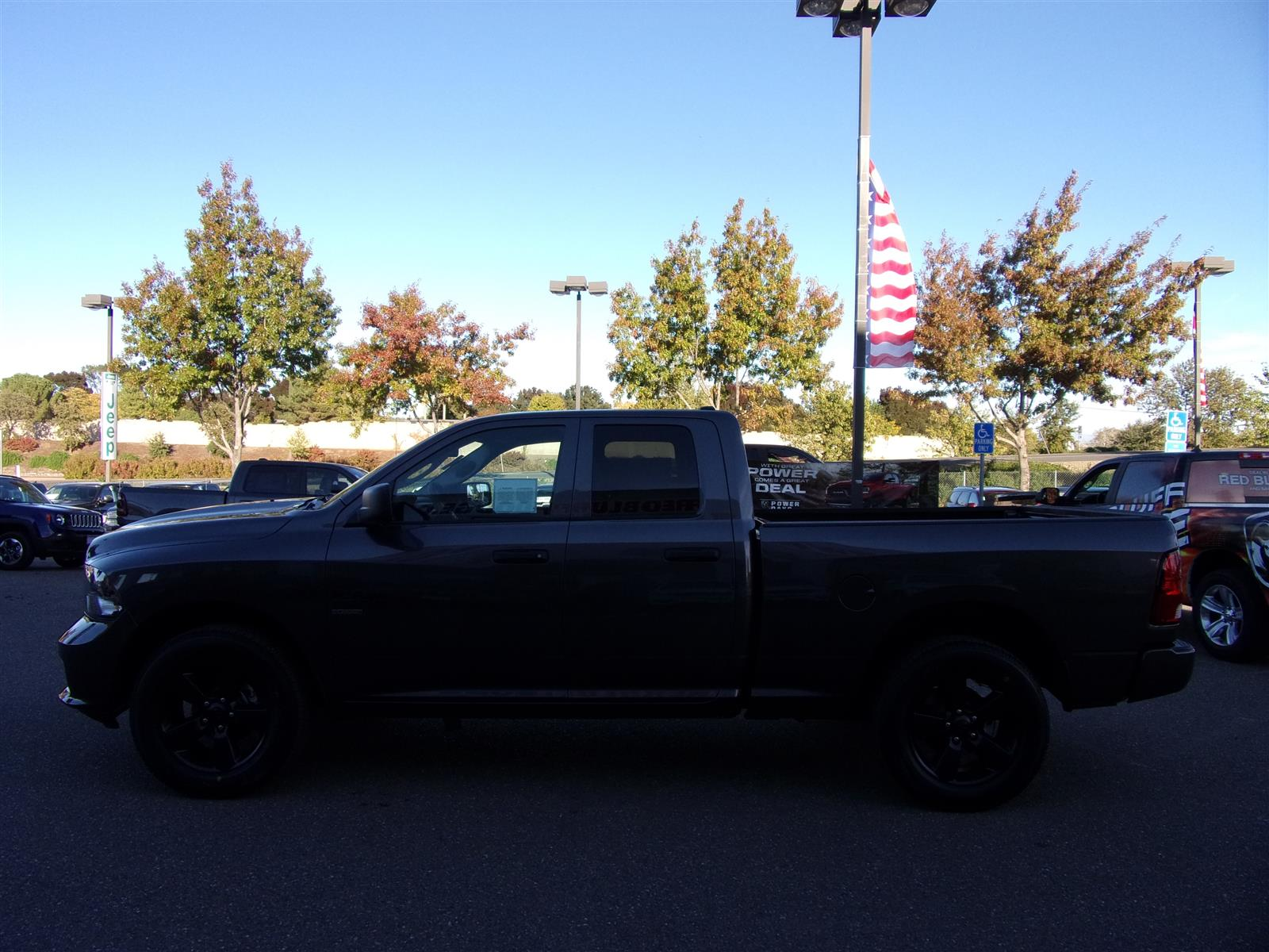 2019 Ram 1500 Quad Cab 4x4,  Pickup #16803 - photo 6