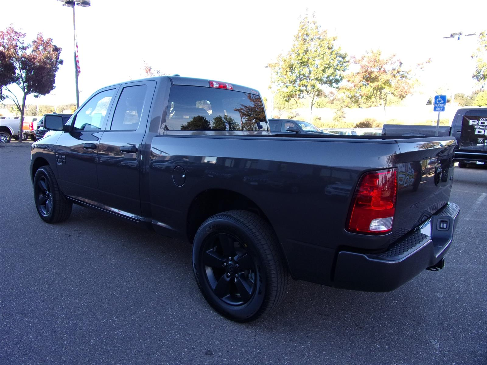 2019 Ram 1500 Quad Cab 4x4,  Pickup #16803 - photo 7