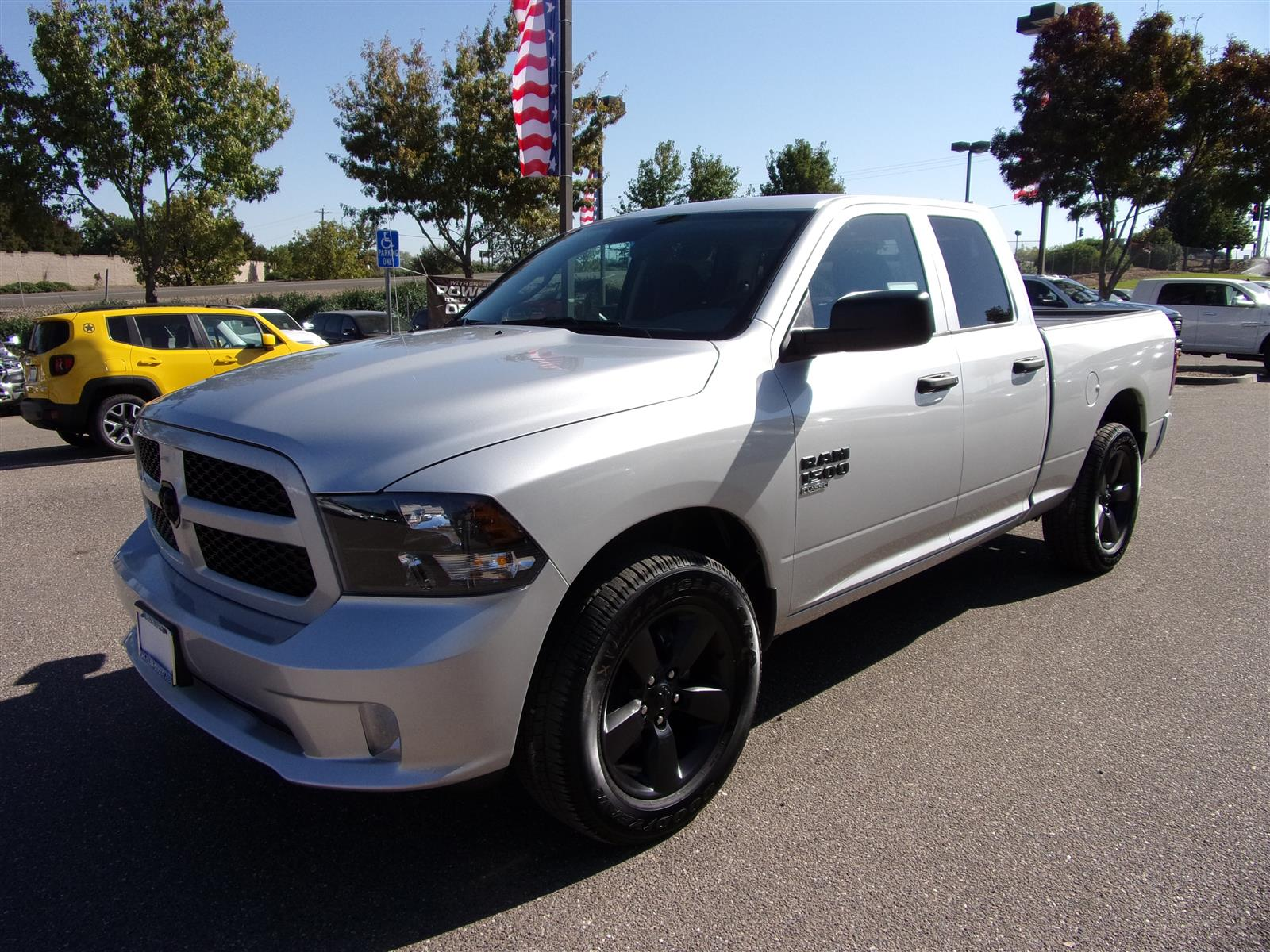2019 Ram 1500 Quad Cab 4x4,  Pickup #16815 - photo 5
