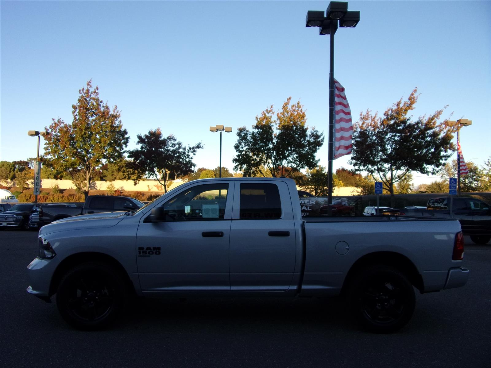 2019 Ram 1500 Quad Cab 4x4,  Pickup #16830 - photo 6