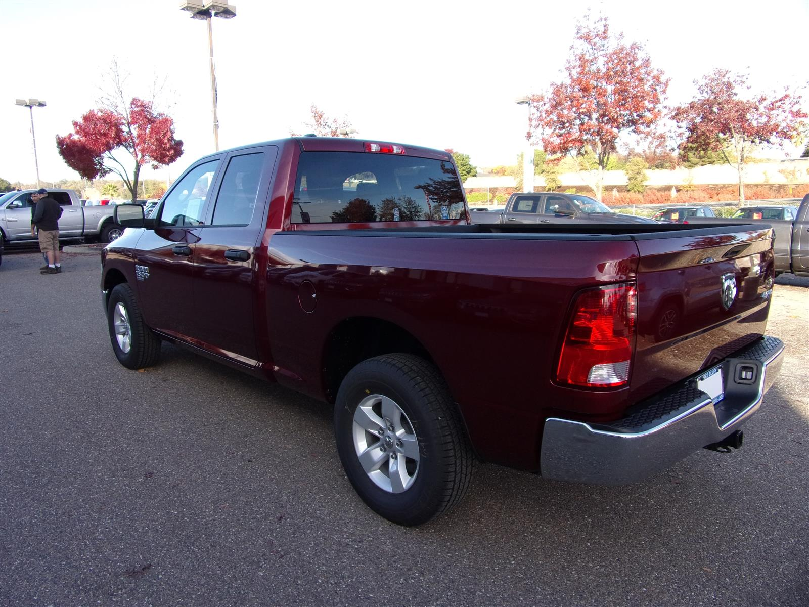 2019 Ram 1500 Quad Cab 4x4,  Pickup #16982 - photo 7
