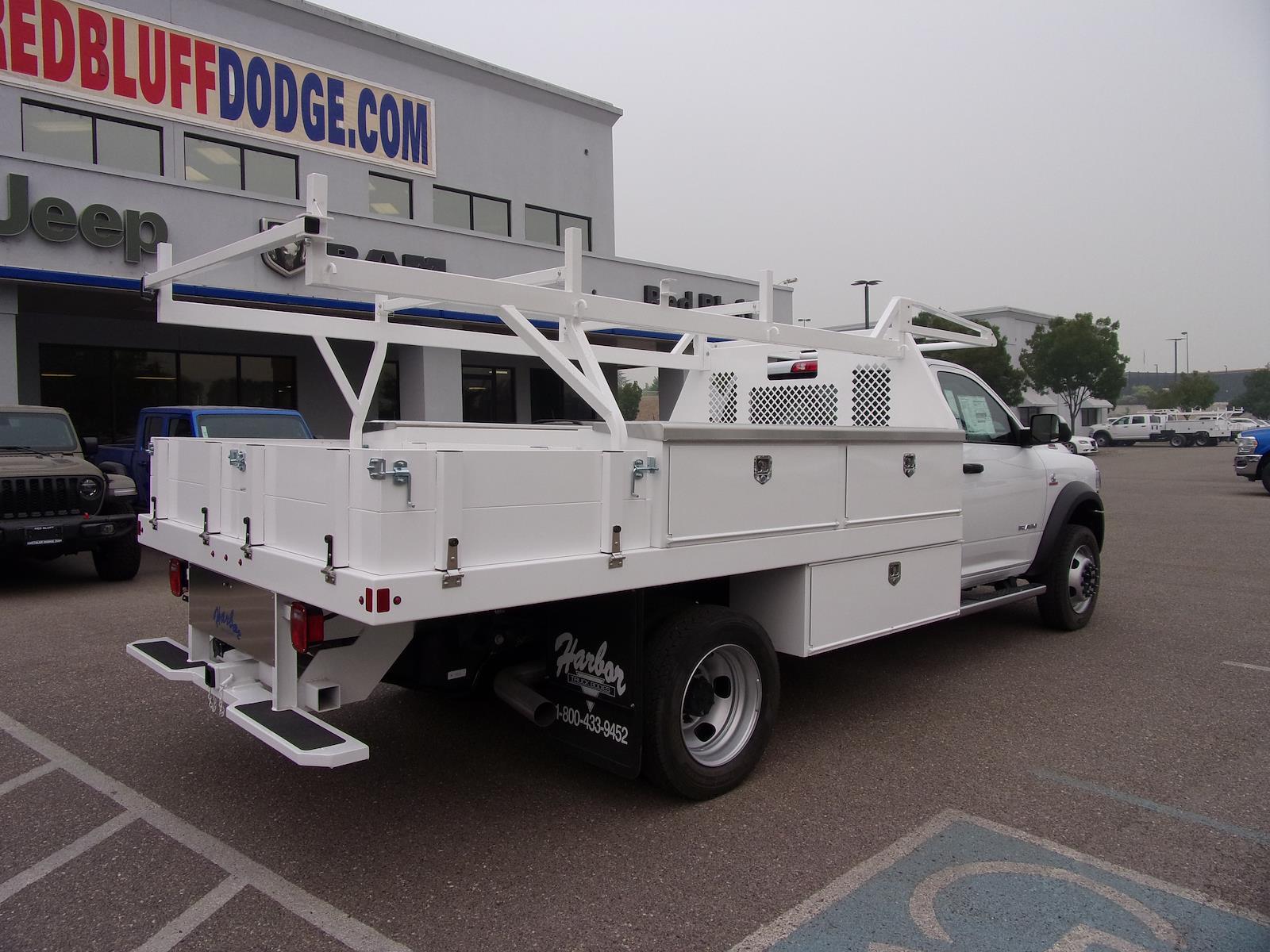 2020 Ram 5500 Regular Cab DRW 4x4, Harbor Contractor Body #18119 - photo 1