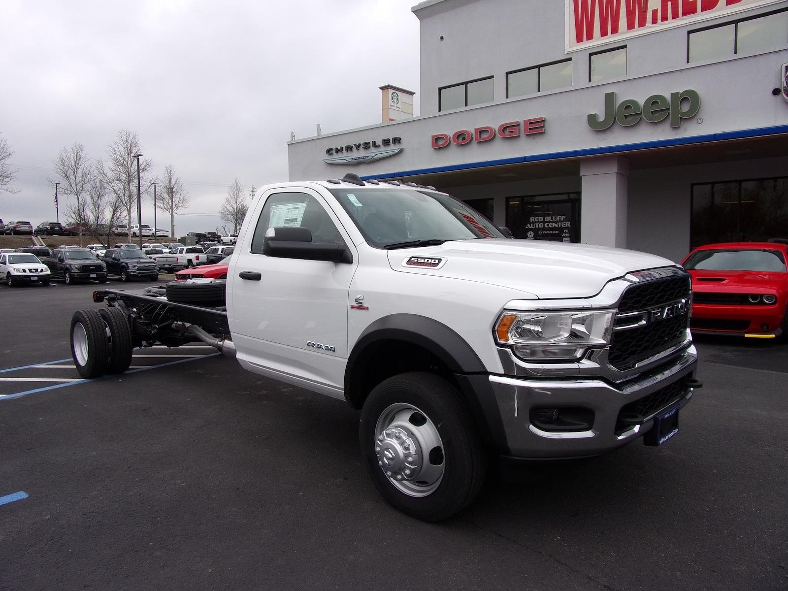 2021 Ram 5500 Regular Cab DRW 4x4, Cab Chassis #18581 - photo 1