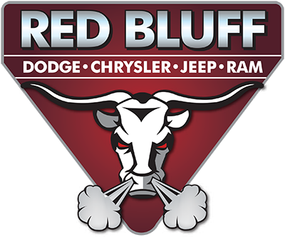 Red Bluff Dodge Ram logo