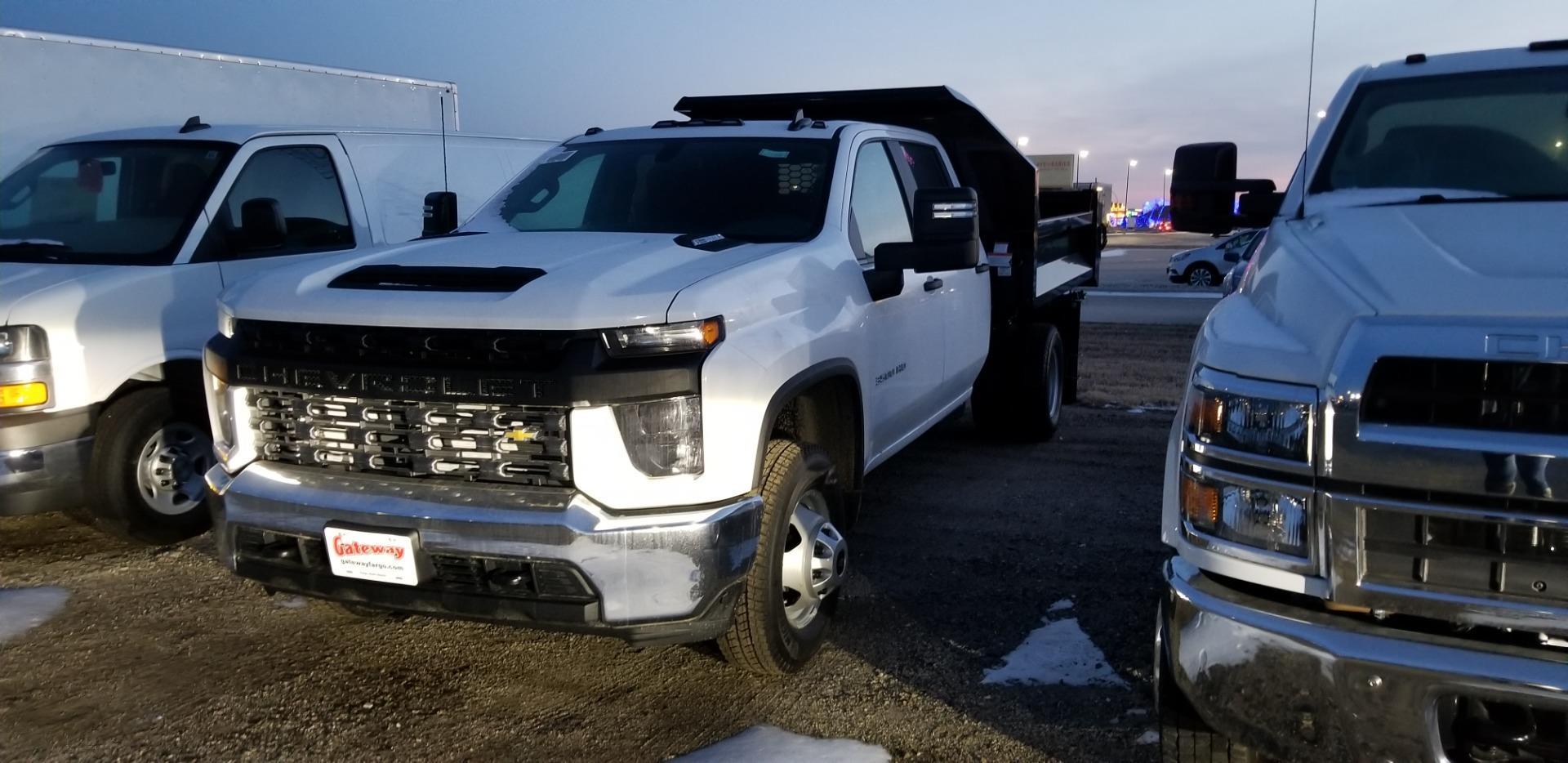 2020 Chevrolet Silverado 3500 Crew Cab DRW 4x4, Knapheide Dump Body #LF290856 - photo 1