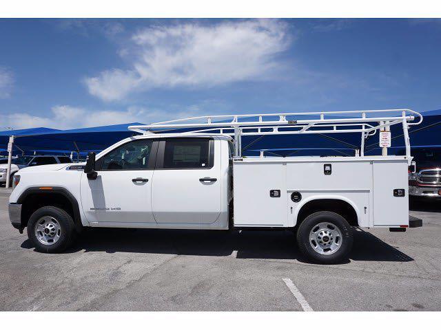 2021 GMC Sierra 2500 Crew Cab 4x2, Knapheide Steel Service Body #111421 - photo 7