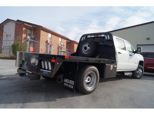 2018 Sierra 3500 Crew Cab DRW 4x4 Platform Body #180918 - photo 2