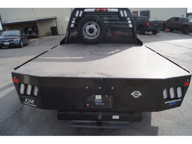 2018 Sierra 3500 Crew Cab DRW 4x4 Platform Body #180918 - photo 3