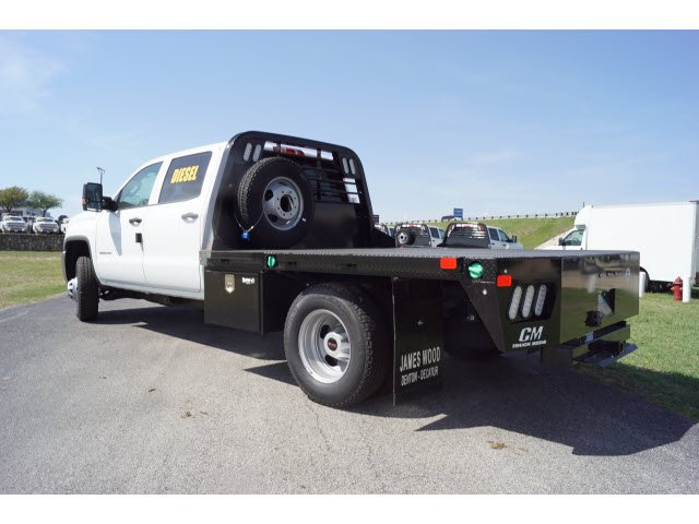 2018 Sierra 3500 Crew Cab DRW 4x4,  CM Truck Beds Platform Body #181299 - photo 2