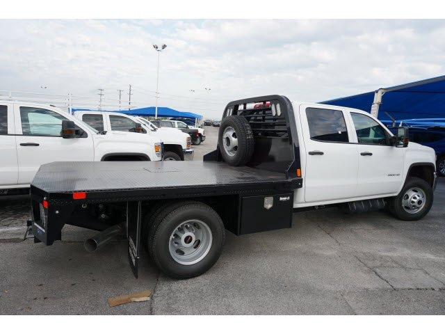 2019 Sierra 3500 Crew Cab DRW 4x4, CM Truck Beds RD Model Platform Body #192106 - photo 3