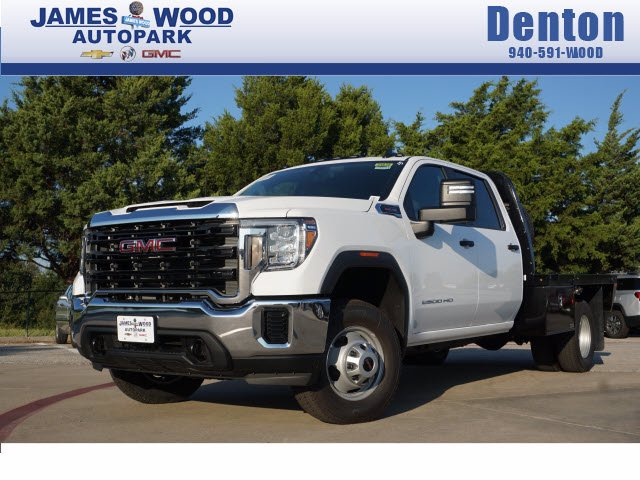 2020 GMC Sierra 3500 Crew Cab 4x2, Knapheide Platform Body #203949 - photo 1