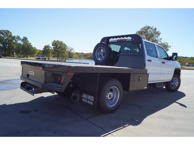 2018 Sierra 3500 Crew Cab DRW 4x4,  Knapheide Platform Body #280701 - photo 2