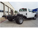 2018 Sierra 3500 Crew Cab DRW 4x4,  Cab Chassis #283251 - photo 1