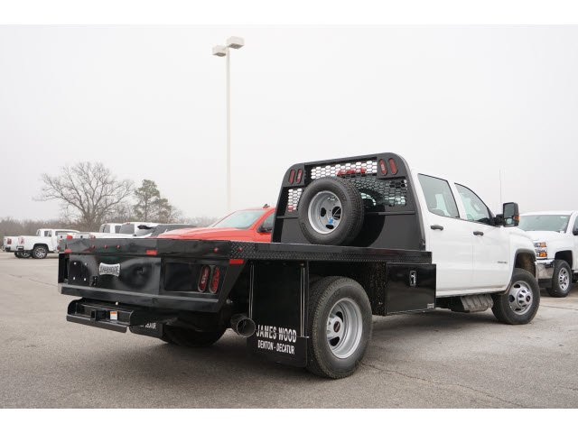 2019 Sierra 3500 Crew Cab DRW 4x2,  Platform Body #291497 - photo 2