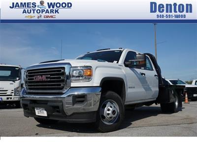 2019 Sierra 3500 Crew Cab DRW 4x4,  CM Truck Beds Dealers Truck Platform Body #291822 - photo 1