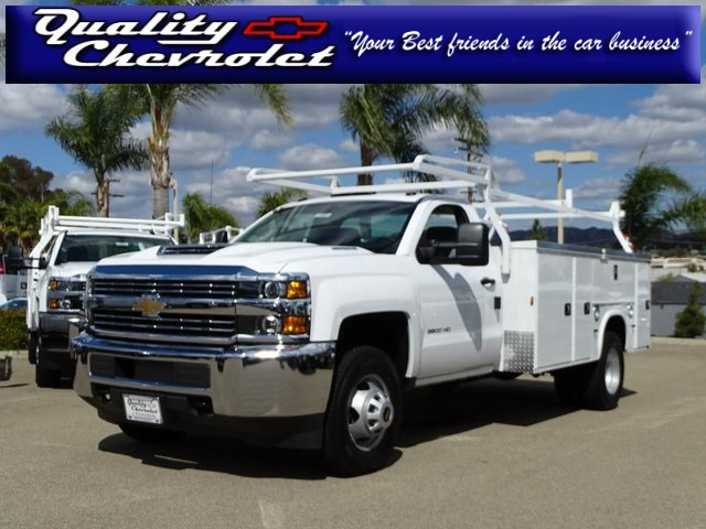 2017 Silverado 3500 Regular Cab DRW 4x2,  Knapheide Service Body #172427 - photo 1