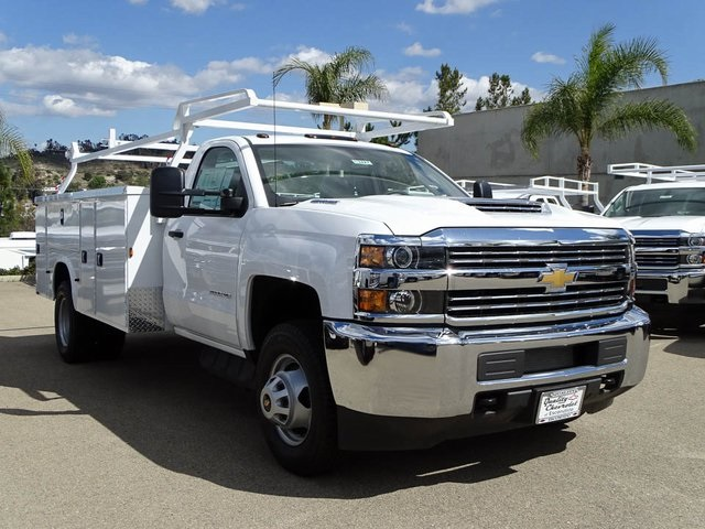 2017 Silverado 3500 Regular Cab DRW 4x2,  Knapheide Service Body #172427 - photo 7