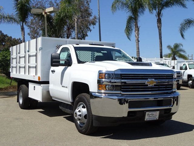 2018 Silverado 3500 Regular Cab DRW 4x2,  Harbor Landscape Dump #180353 - photo 1