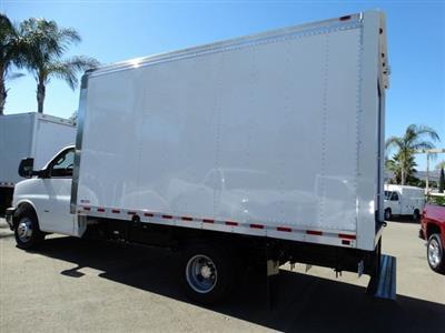 2018 Express 3500 4x2,  Morgan Parcel Aluminum Cutaway Van #181786 - photo 2