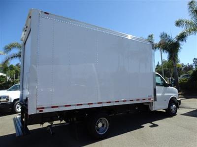 2018 Express 3500 4x2,  Morgan Parcel Aluminum Cutaway Van #181786 - photo 4