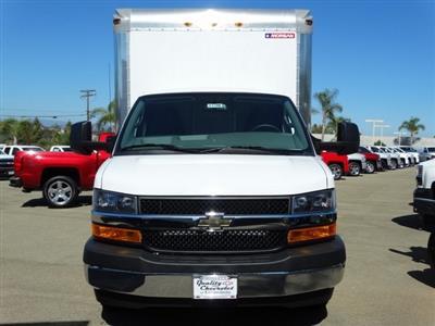 2018 Express 3500 4x2,  Morgan Parcel Aluminum Cutaway Van #181786 - photo 6