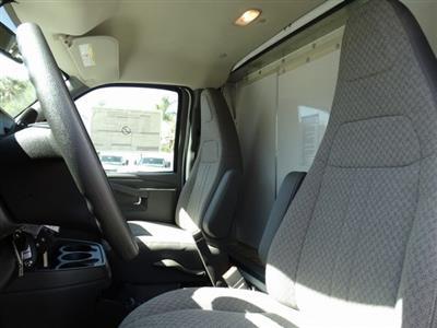 2018 Express 3500 4x2,  Morgan Parcel Aluminum Cutaway Van #181786 - photo 8