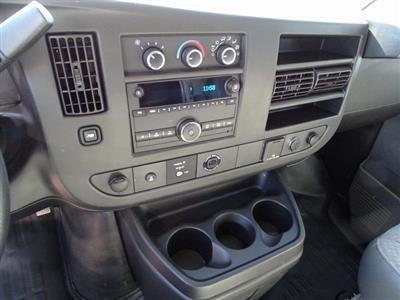 2018 Express 3500 4x2,  Morgan Parcel Aluminum Cutaway Van #182296 - photo 13