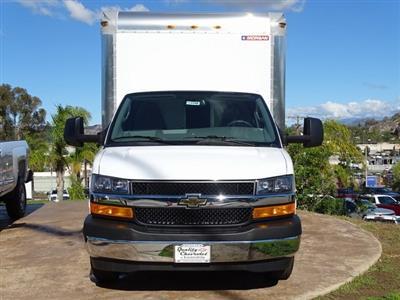2018 Express 3500 4x2,  Morgan Parcel Aluminum Cutaway Van #182296 - photo 3