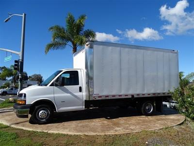 2018 Express 3500 4x2,  Morgan Parcel Aluminum Cutaway Van #182296 - photo 5