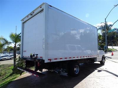 2018 Express 3500 4x2,  Morgan Parcel Aluminum Cutaway Van #182296 - photo 2