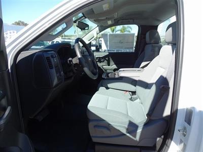 2018 Silverado 3500 Regular Cab DRW 4x2,  Royal Contractor Body #182297 - photo 11