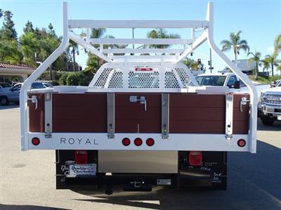 2018 Silverado 3500 Regular Cab DRW 4x2,  Royal Contractor Body #182297 - photo 5