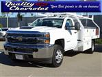 2018 Silverado 3500 Regular Cab DRW 4x2,  Royal Contractor Body #182297 - photo 1